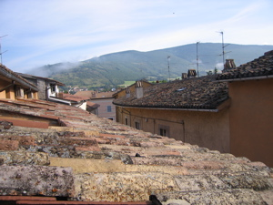 Norcia rooftops