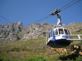 Cable Car to Table Mtn